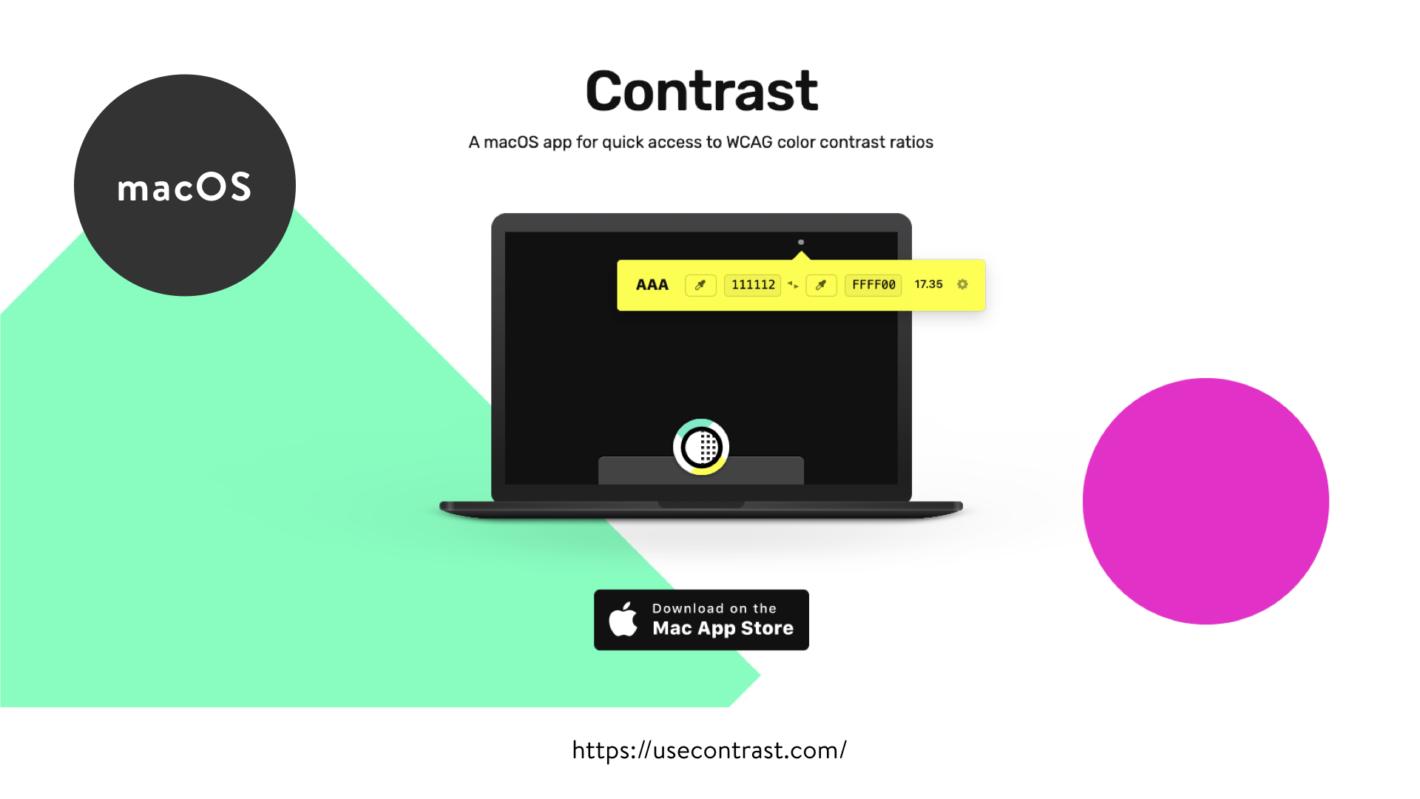 Contrast アプリのスクリーンショット